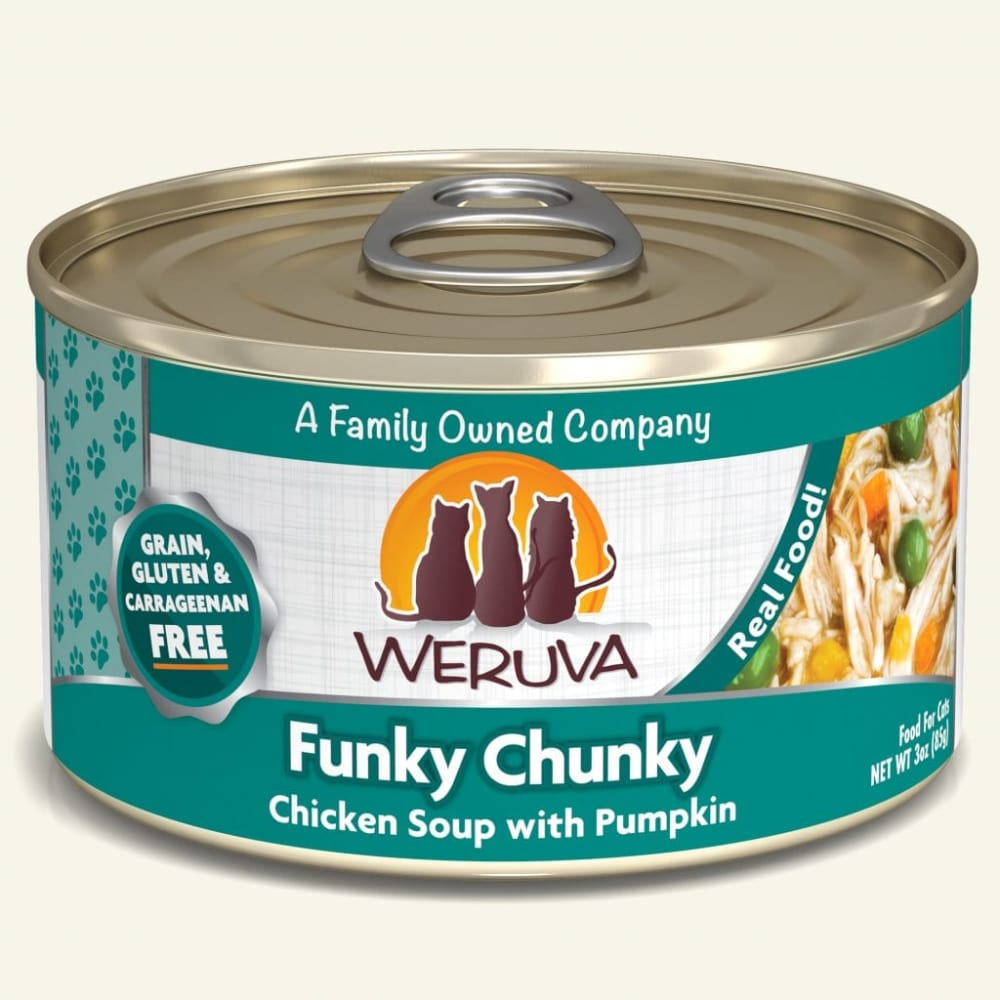 Weruva - Funky Chunky Chicken Soup With Pumpkin Grain-Free Canned Cat Food