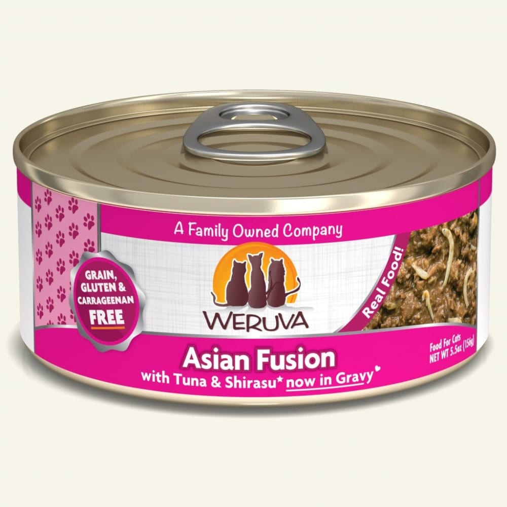 Weruva - Asian Fusion With Tuna & Japanese Anchovy In Gravy Grain-Free Canned Cat Food