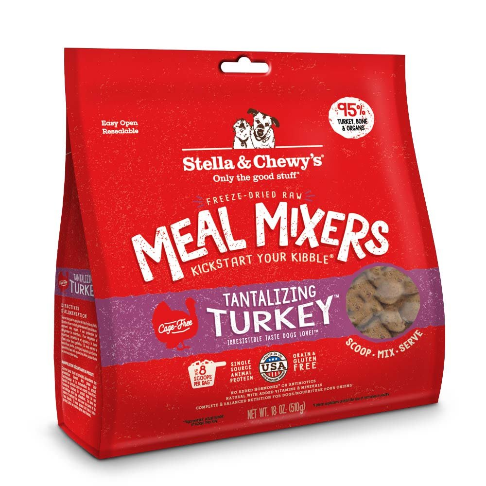 Stella & Chewy's - Tantalizing Turkey Meal Mixers Grain-Free Freeze Dried Dog Food