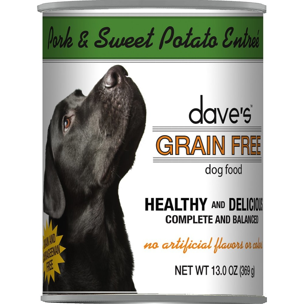 Dave's Pet Food - Roasted Pork & Sweet Potato Grain-Free Canned Dog Food