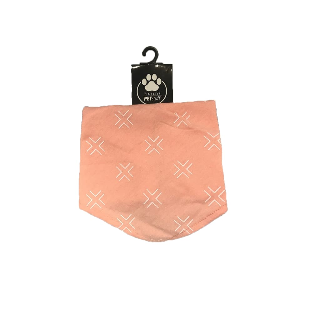 Bentley's Pet Stuff - Pink Contrast Bandana