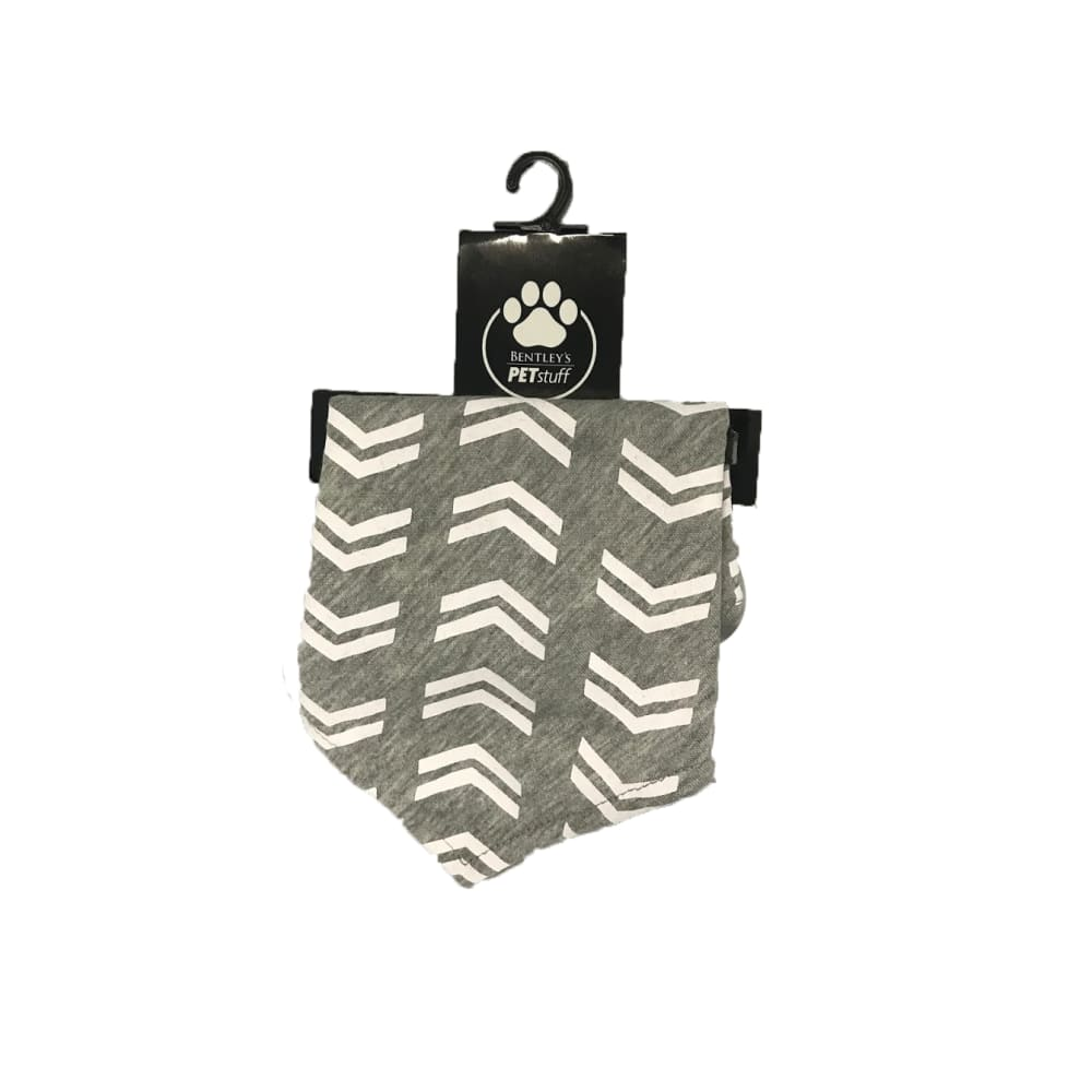 Bentley's Pet Stuff - Grey Arrow Bandana