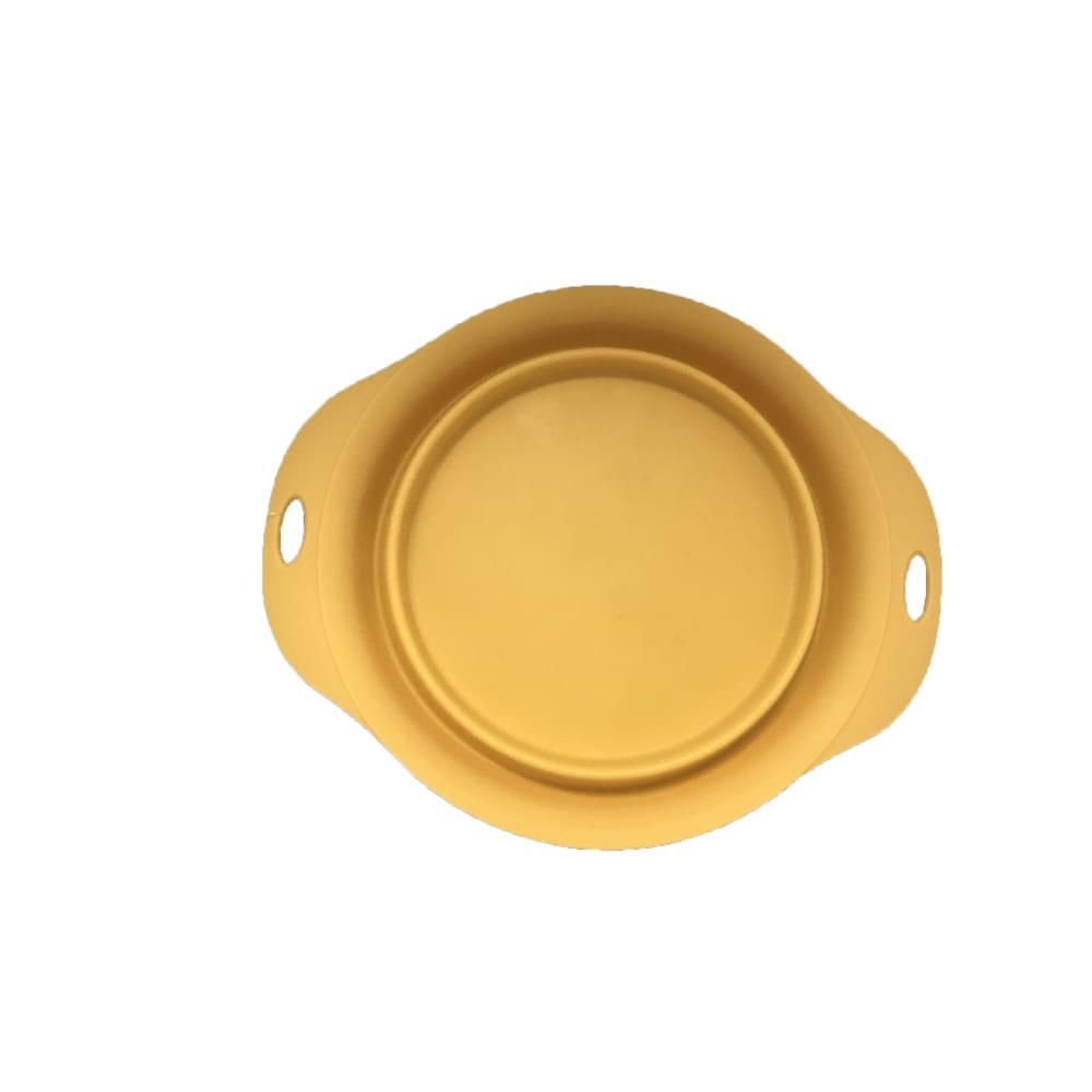 Bentley's Pet Stuff - Mustard Collapsible Travel Bowl