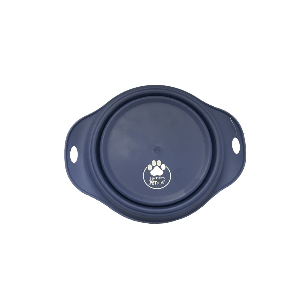 Bentley's Pet Stuff - Blue Collapsible Travel Bowl