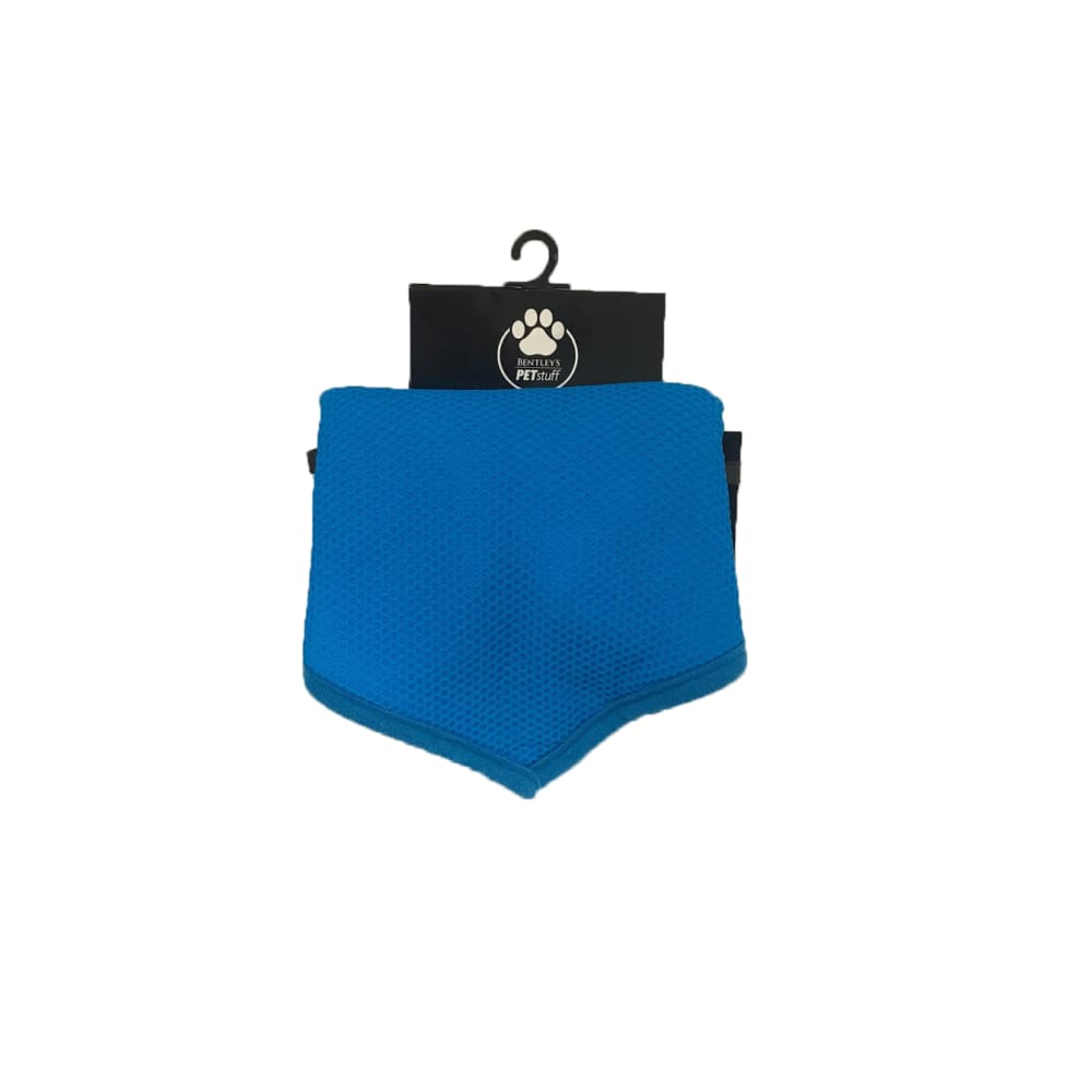Bentley's Pet Stuff - Blue Cooling Bandana