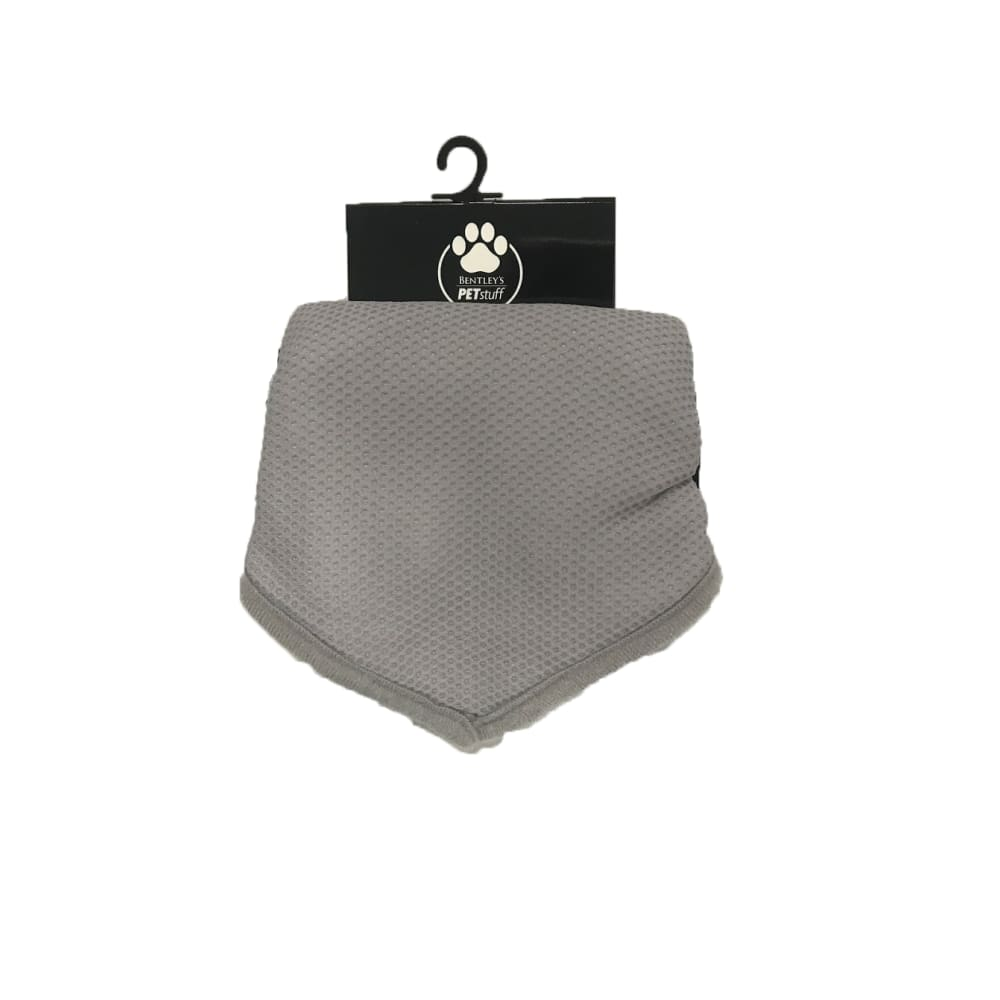 Bentley's Pet Stuff - Grey Cooling Bandana