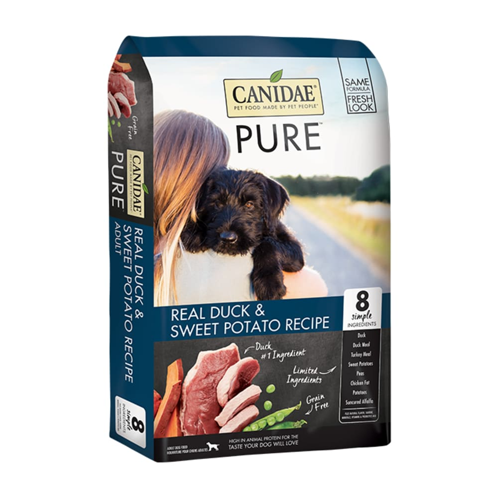 Canidae - PURE Duck & Sweet Potato Recipe Grain-Free Dry Dog Food