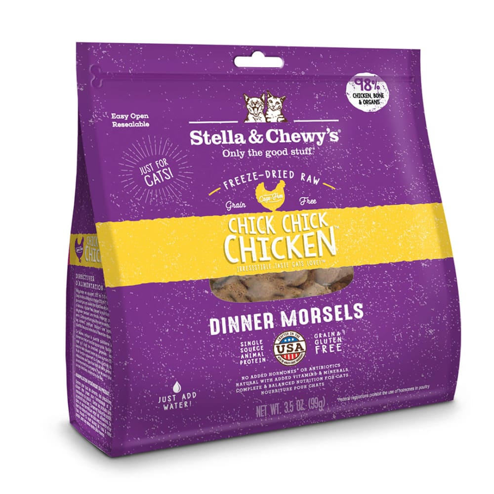 Stella & Chewy's - Chick Chick Chicken Dinner Morsels Grain-Free Freeze Dried Cat Food