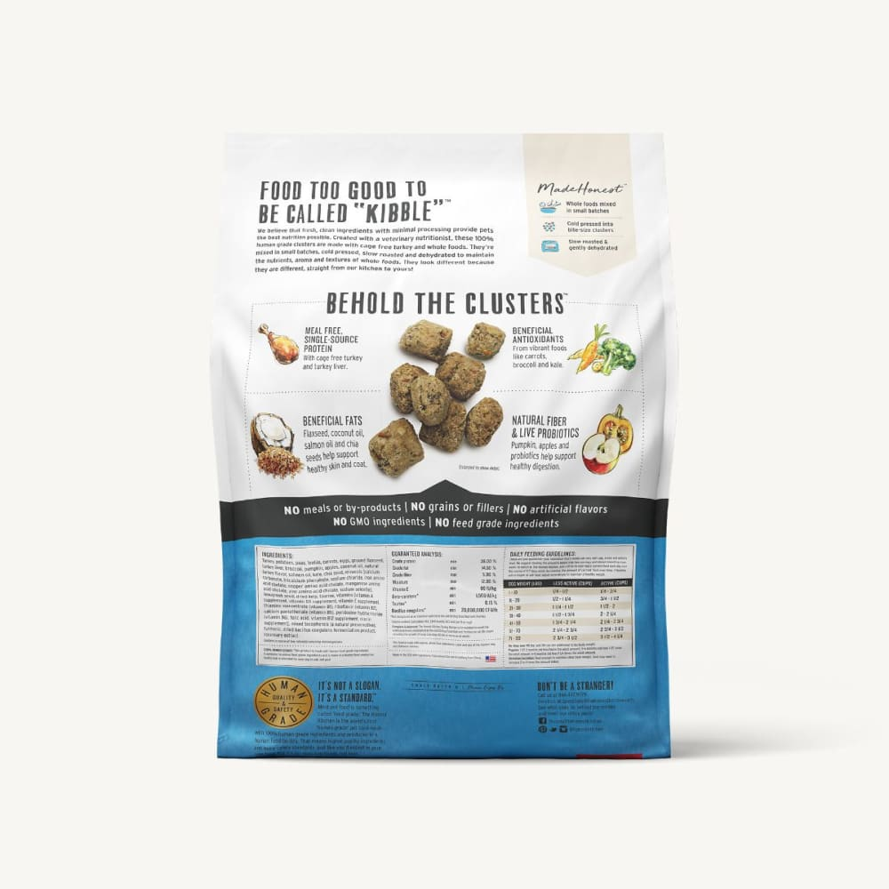 The Honest Kitchen - Whole Food Clusters Turkey Recipe Grain-Free Dry Dog Food