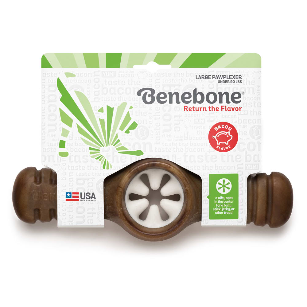 Benebone - Bacon Flavored Pawplexer Dog Chew