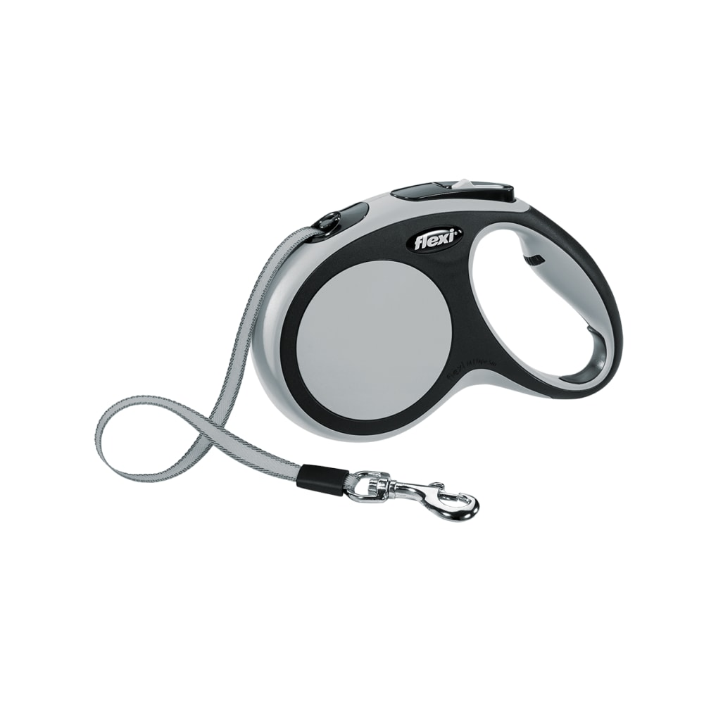 Flexi - Retractable Comfort Lead Grey