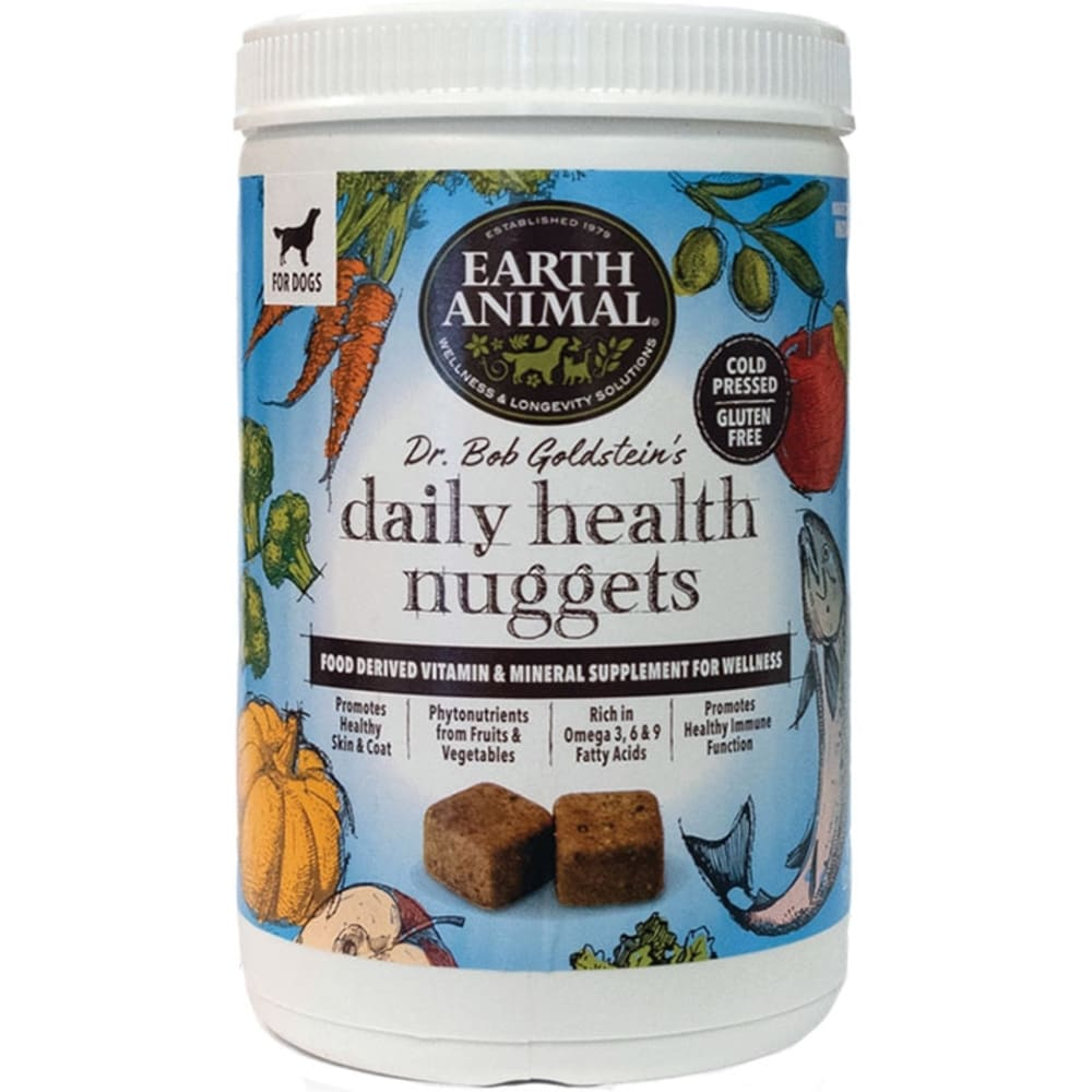 Earth Animal - Dr. Bob Goldstein's Daily Health Nuggets For Dogs, 1lb