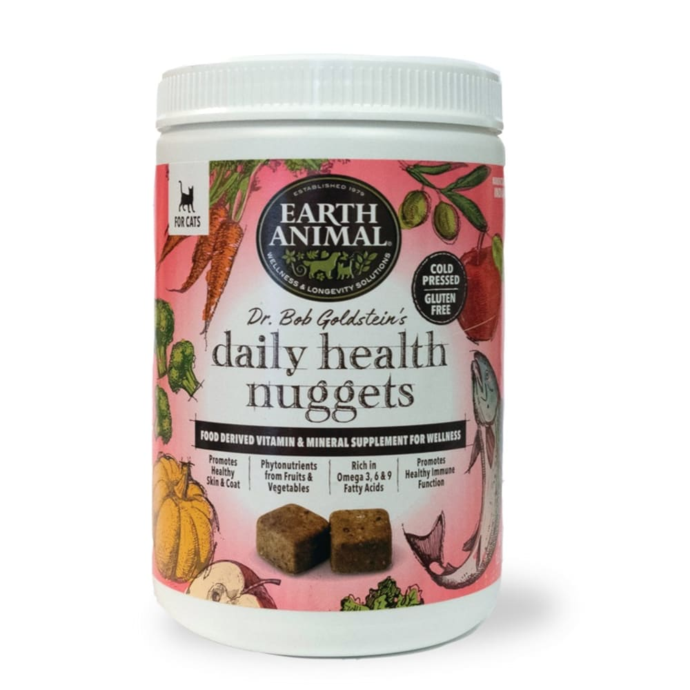 Earth Animal - Dr. Bob Goldstein's Daily Health Nuggets For Cats, 1lb