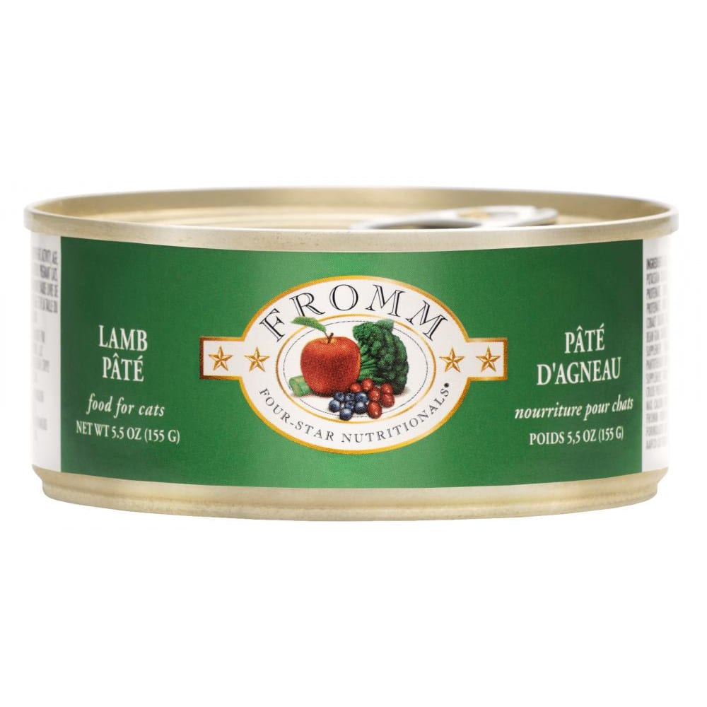Fromm - Four-Star Lamb Pate Canned Cat Food, 5.5oz