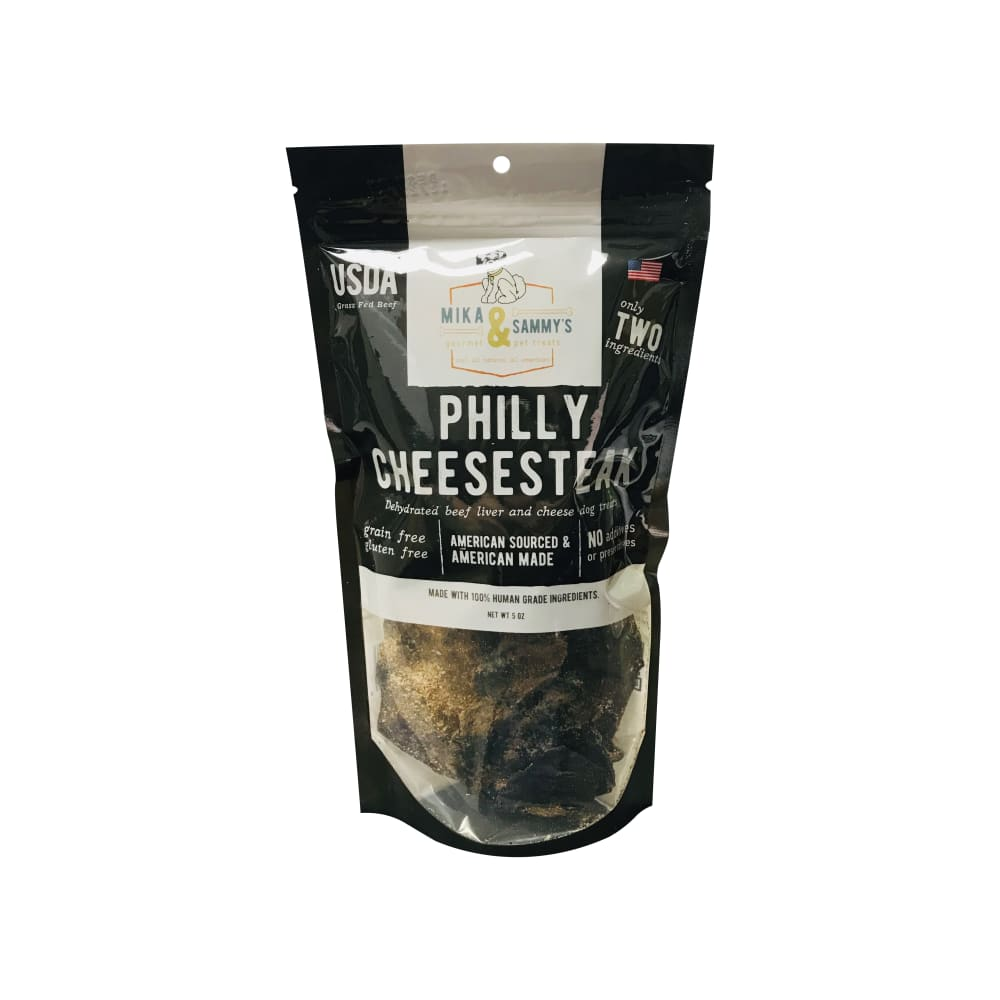 Mika & Sammy's - Philly Cheesesteak Grain-Free Dog Treats, 5oz