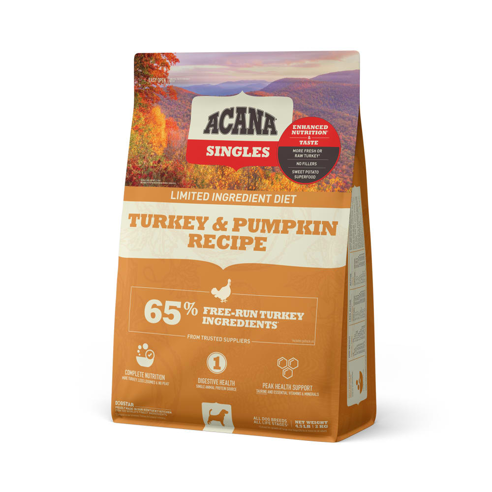 Acana - Singles Turkey & Greens Formula Grain-Free Dry Dog Food