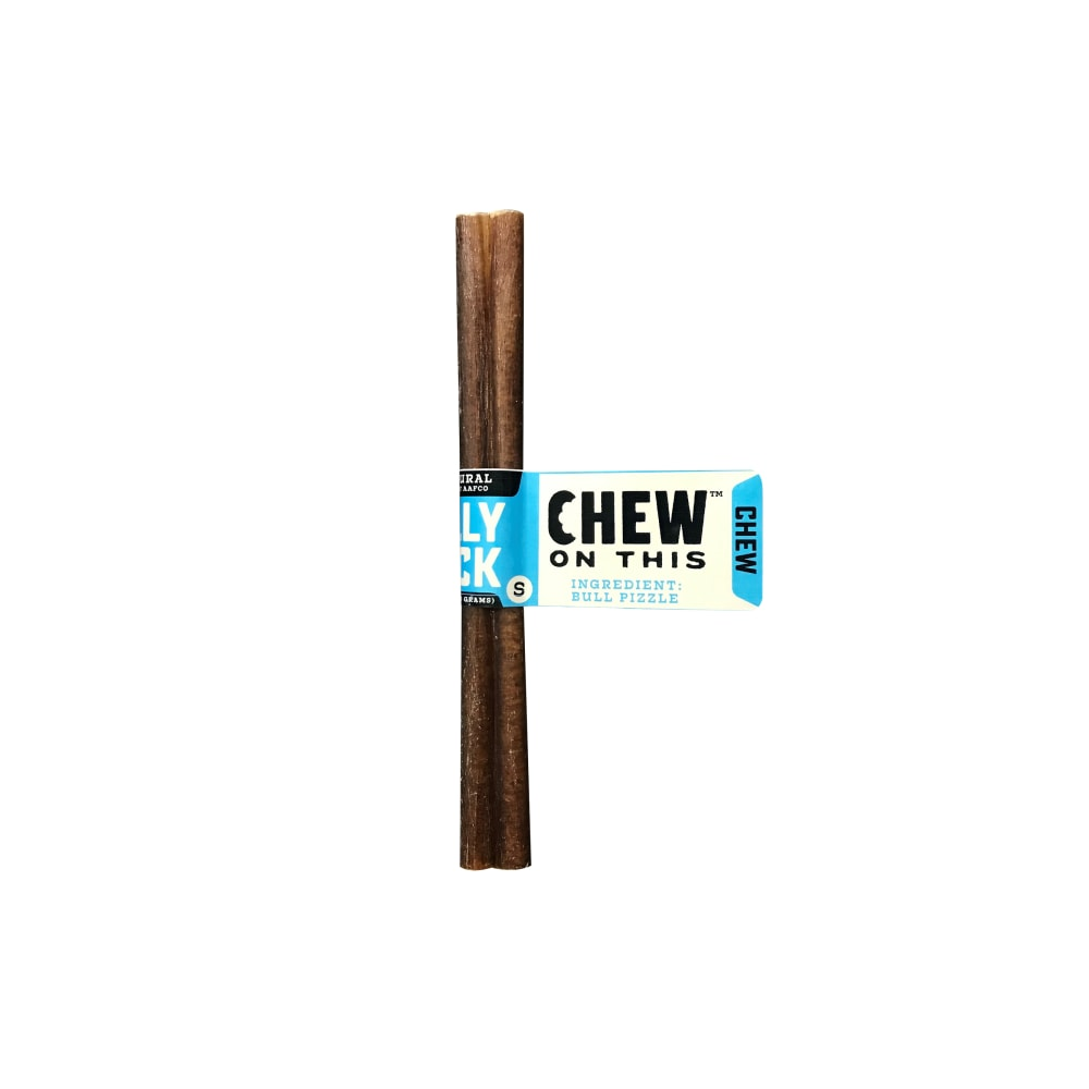 "Chew On This - 6""  Bully Stick Dog Chew"