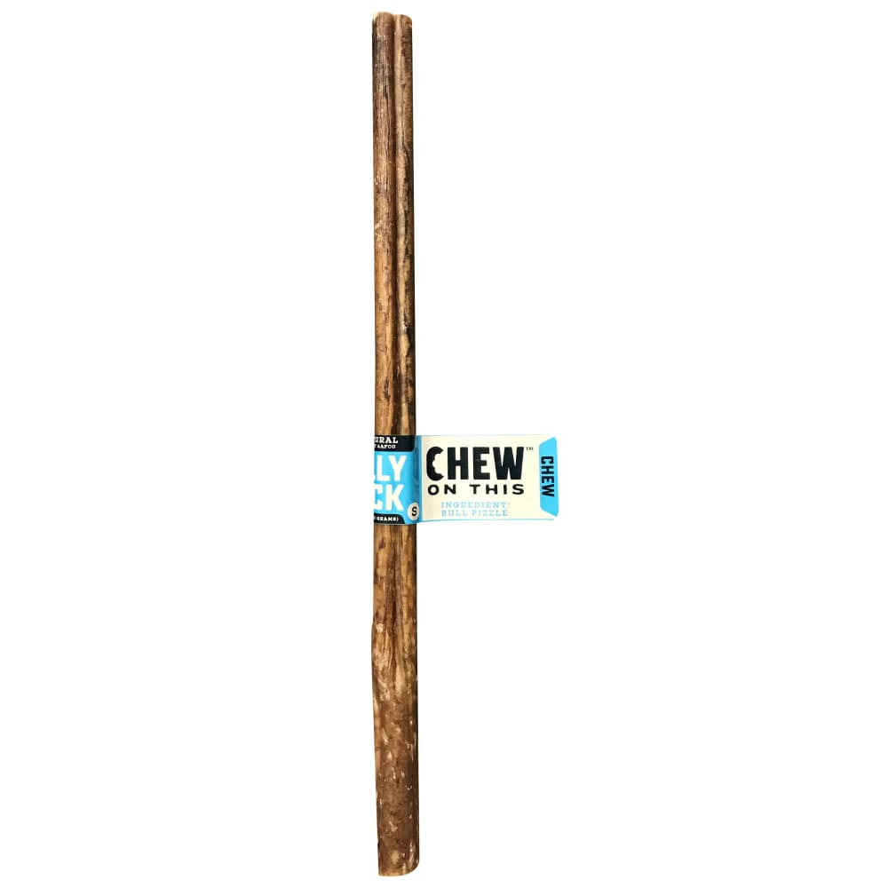 "Chew On This - 12""  Bully Stick Dog Chew"