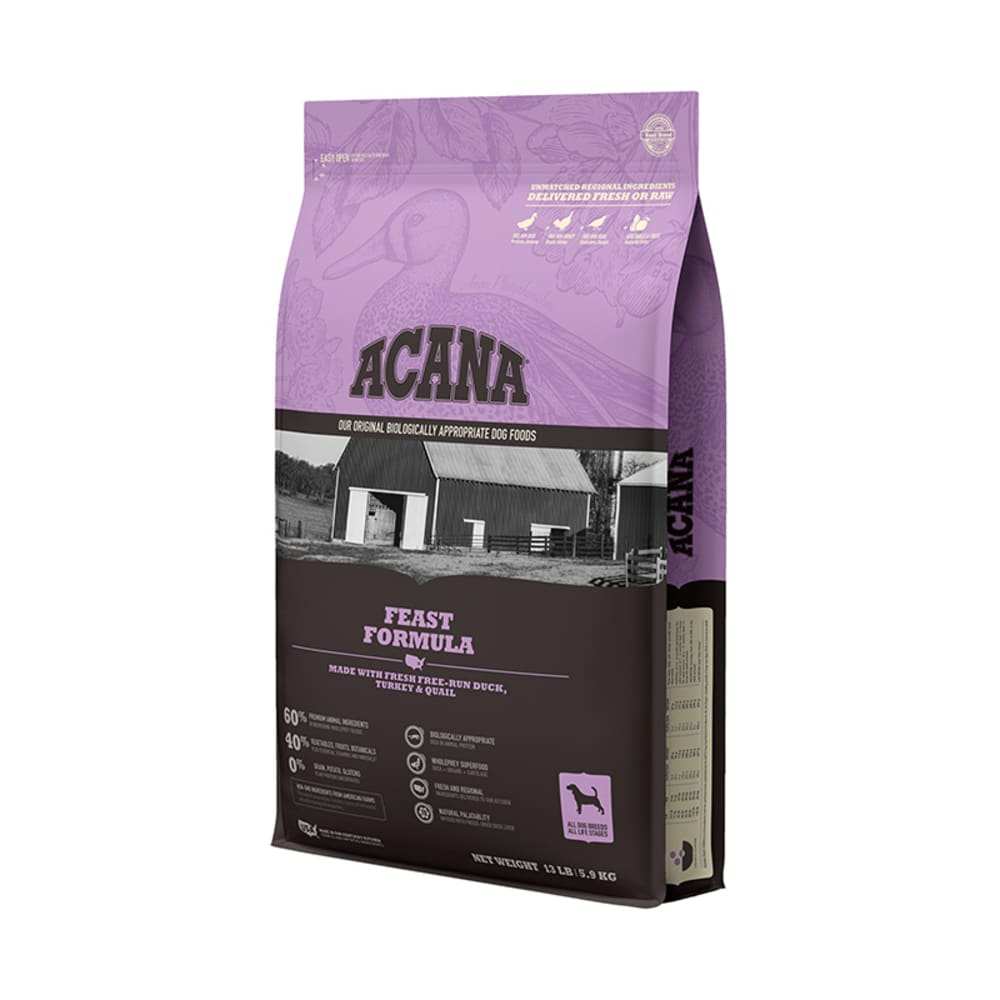 Acana - Heritage Feast Formula Grain-Free Dry Dog Food