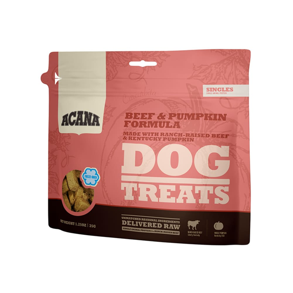 Acana - Beef & Pumpkin Freeze Dried Dog Treats