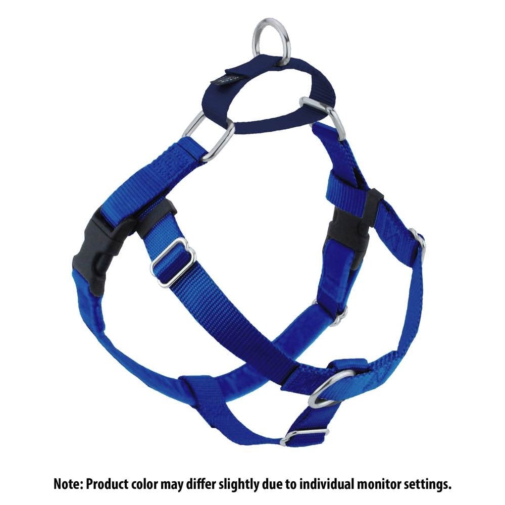 2 Hounds Design - Freedom No-Pull Harness & Lead Set Royal Blue
