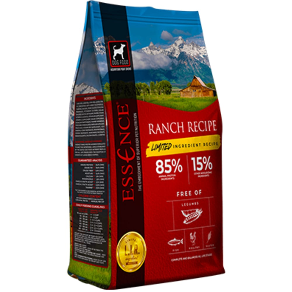 Essence - LIR Ranch Recipe Dry Dog Food