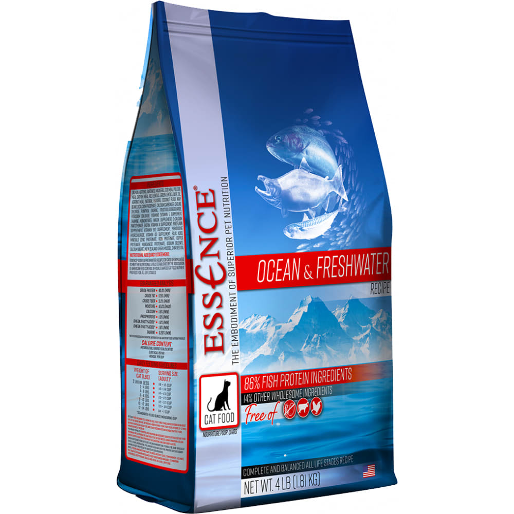 Essence - Ocean & Freshwater Grain-Free Dry Cat Food
