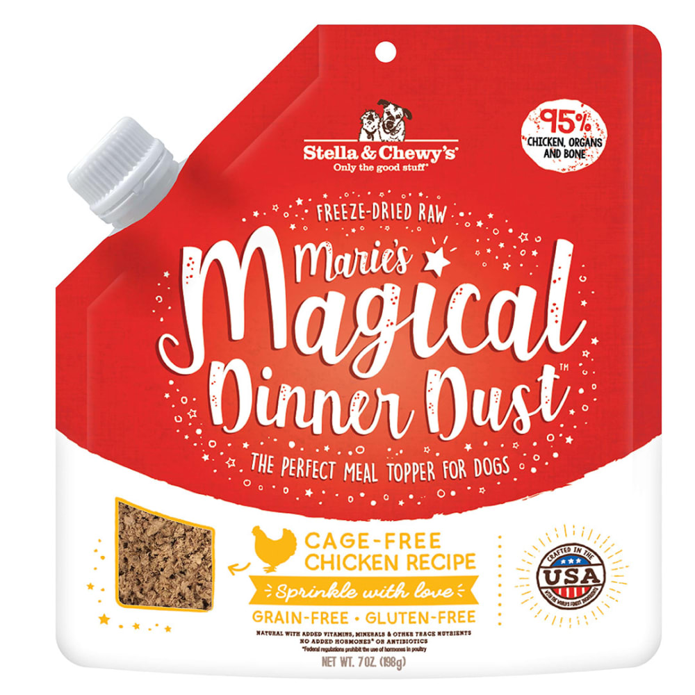 Stella & Chewy's - Marie's Magical Dinner Dust Grain-Free Chicken Recipe Meal Topper For Dogs