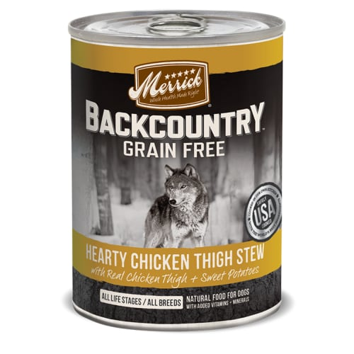 Merrick - Backcountry Hearty Chicken Thigh Stew Grain-Free Canned Dog Food