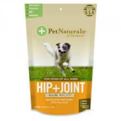 Pet Naturals - Hip & Joint With Perma Mussel 60 Count For All Dog Sizes Pet Supplement, 3.17oz