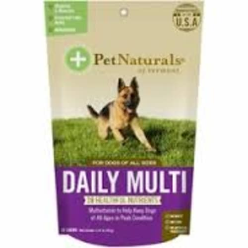 Pet Naturals - Daily Multi 30 Count For All Dog Sizes Pet Supplement, 3.7oz