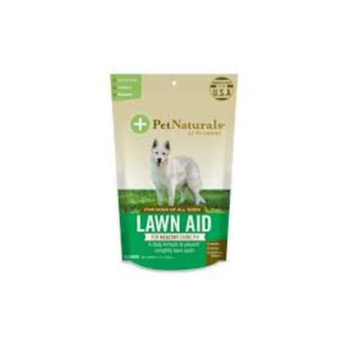 Pet Naturals - Lawn Aid 60 Count For All Dog Sizes Pet Supplement, 3.17oz