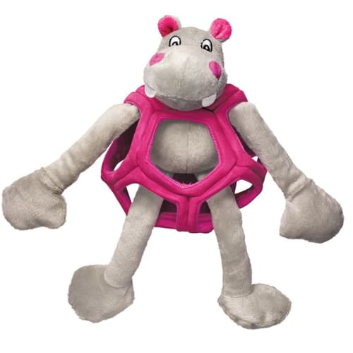 Kong - Puzzlements Hippo Large Dog Toy