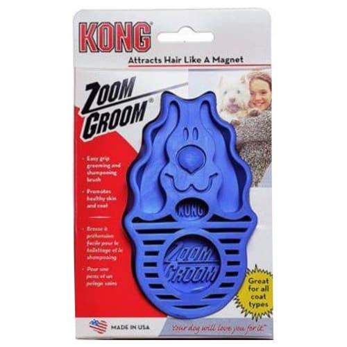 Kong - Zoom Groom Boysenberry Dog Brush
