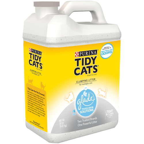 Tidy Cat - Glade Tough Odor Solutions Clumping Cat Litter, 20lb
