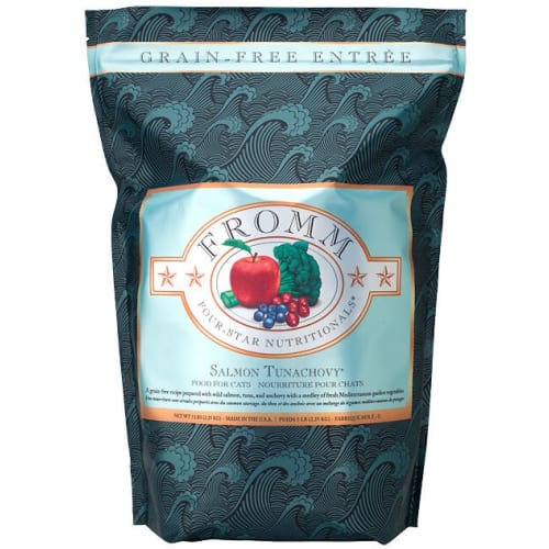 Fromm - Four-Star Salmon Tunachovy Grain-Free Dry Cat Food