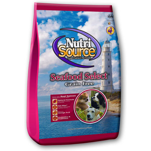 NutriSource - Seafood Select Grain-Free Dry Dog Food, 30lb