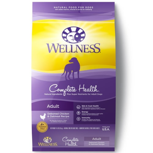 Wellness - Complete Health Deboned Chicken & Oatmeal Recipe Adult Dry Dog Food