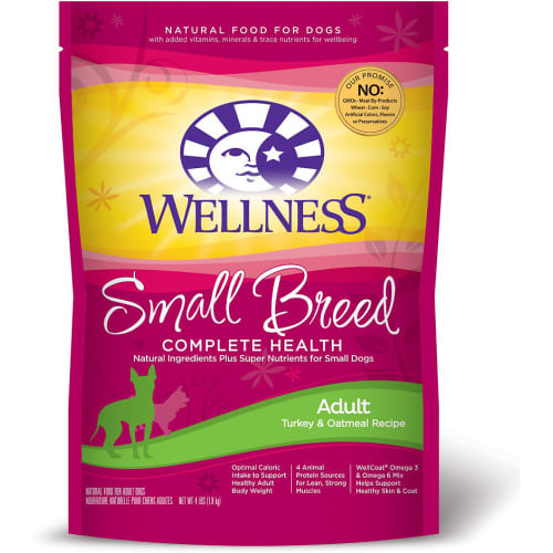 Wellness - Complete Health Small Breed Deboned Turkey & Oatmeal Recipe Dry Dog Food