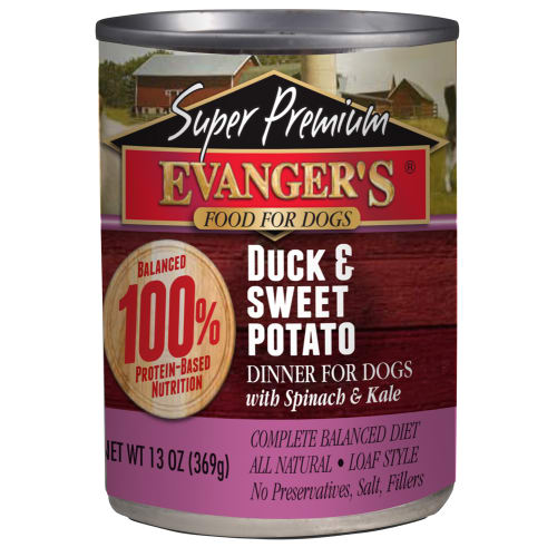 Evanger's - Super Premium Duck & Sweet Potato Grain-Free Canned Dog Food