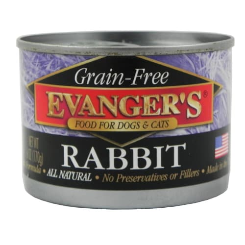 Evanger's - Rabbit Grain-Free Canned Dog/Cat Food