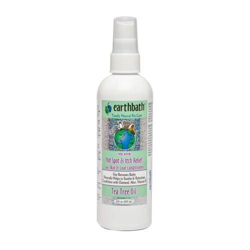 Earthbath - Tea Tree Oil Hot Spot & Itch Relief Spritz With Skin & Coat Conditioners, 8oz