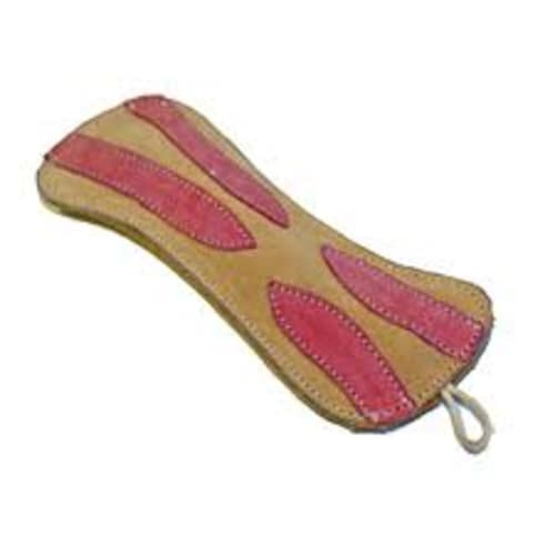 Aussie Naturals - 100% Natural Eco-Friendly Leather & Rope Bacon Dog Toy