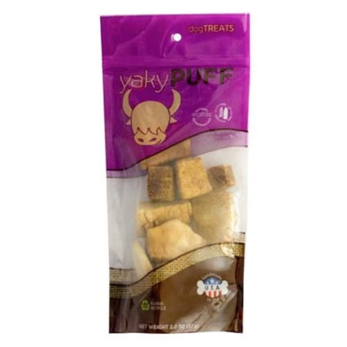 Himalayan Dog Chew - Yaky Puff Grain-Free Dog Treats, 2oz