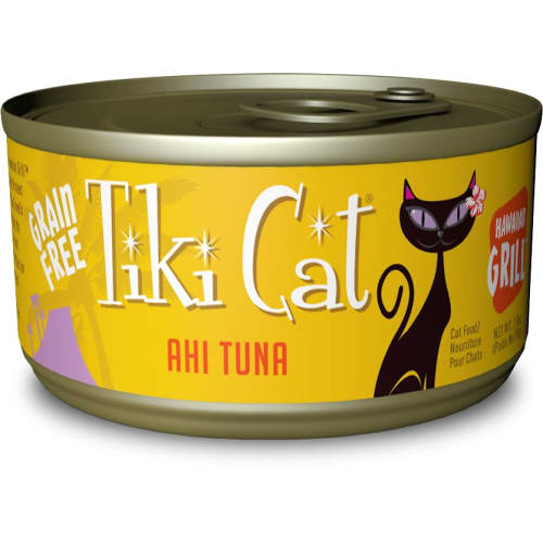 Tiki Cat - Hawaiian Grill Ahi Tuna Grain-Free Canned Cat Food