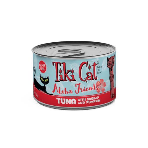 Tiki Cat - Aloha Friends Tuna With Shrimp & Pumpkin Grain-Free Canned Cat Food