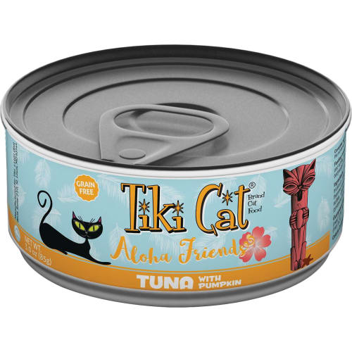 Tiki Cat - Aloha Friends Tuna With Pumpkin Grain-Free Canned Cat Food