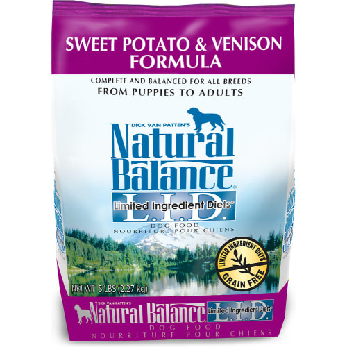 Natural Balance - Limited Ingredient Diets Sweet Potato & Venison Formula Grain-Free Dry Dog Food
