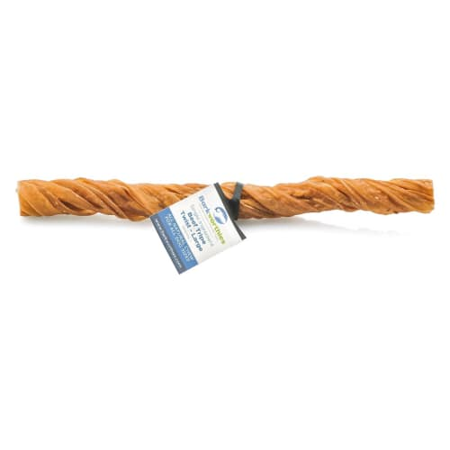 Barkworthies - Single Ingredient Large Tripe Twist Grain-Free Dog Chew, 10in