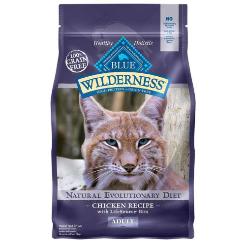 Blue Buffalo - Wilderness Chicken Recipe Grain-Free Dry Cat Food